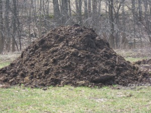 200 ton's/acre is alot of compost!